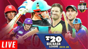 Big Bash Live Streaming Schedule in India 2019-2020