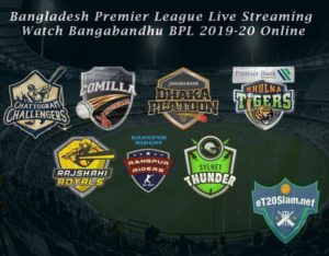 Bangla Premier League ( BPL ) live score and live streaming