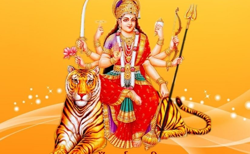 maa durga chalisa hindi lyrics