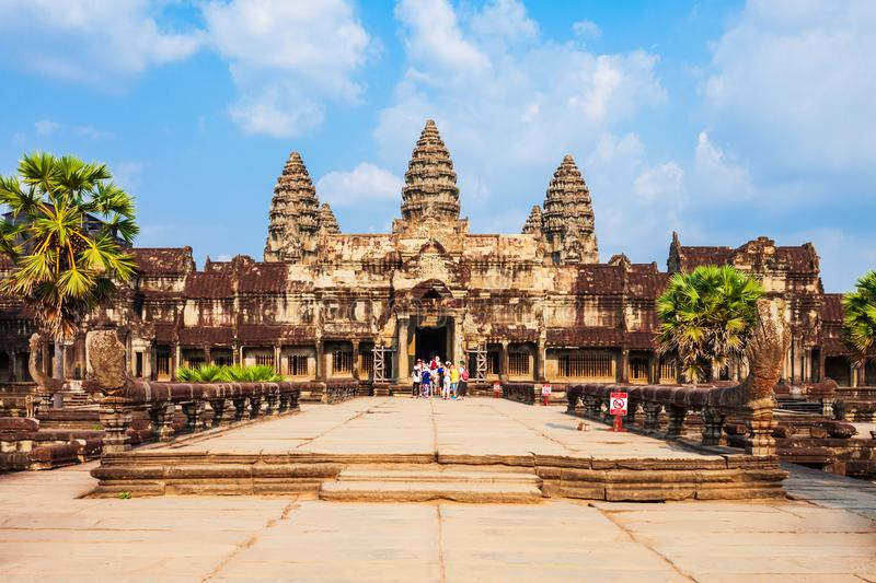 Angkor Wat temple is the world's largest religious monument.
