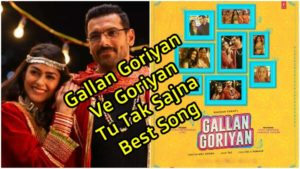 Gallan Goriyan Ve Goriyan Tu Tak Sajna - lyrics In hindi