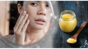 ghee benefits on skin