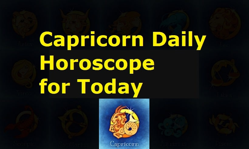 Capricorn Daily Horoscope for Today