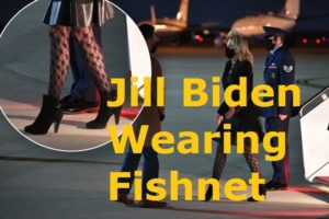 Jill Biden's fishnet Stockings Trending