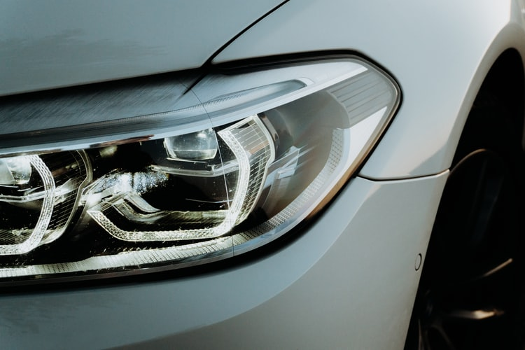 Headlights as asafety feature in a car